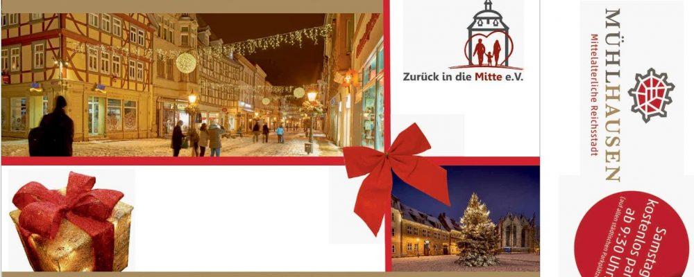Weihnachtliches Gewinnspiel in Mühlhausen
